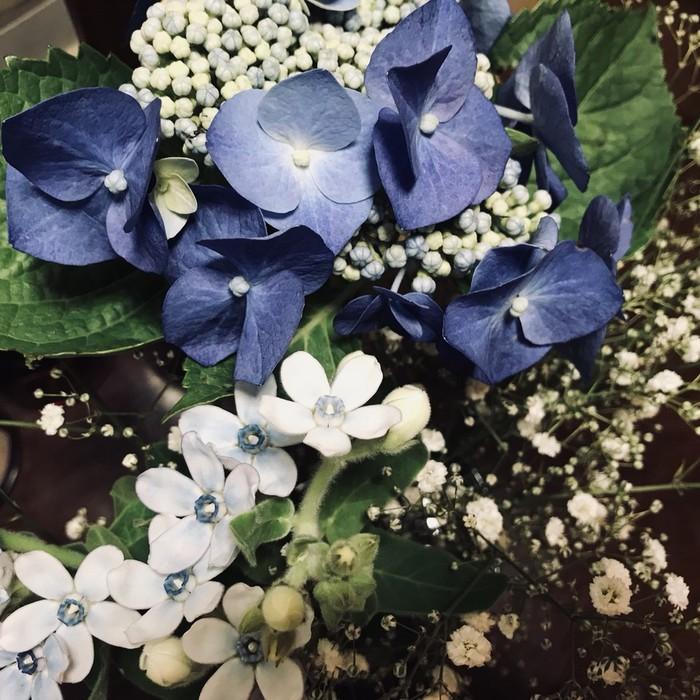 紫陽花のブーケ