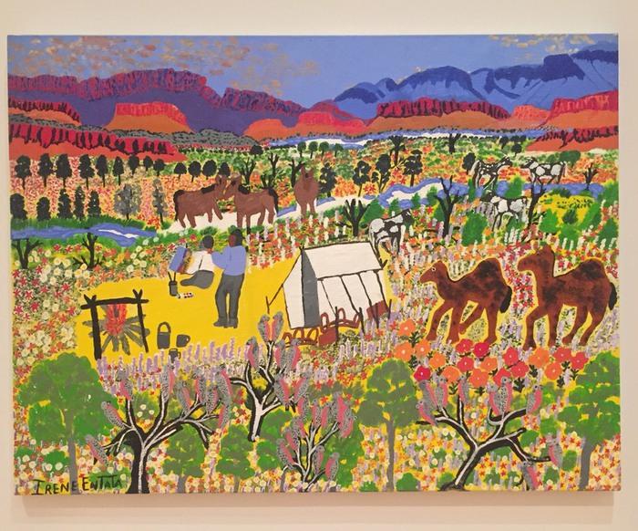 オーストラリアの絵画