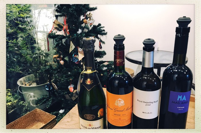 ケープルヴィルのワインペアリングのコース