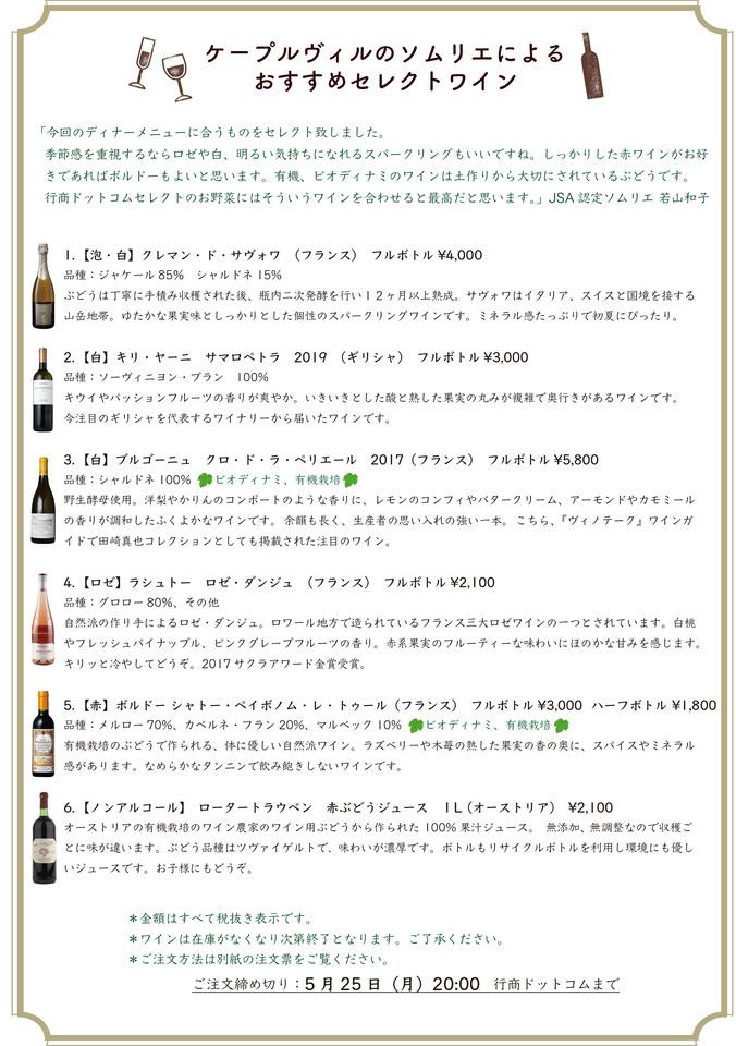 千駄木ケープルヴィル のソムリエが自信を持ってオススメするワインリスト。デリバリーサービス。谷根千周辺地域限定。