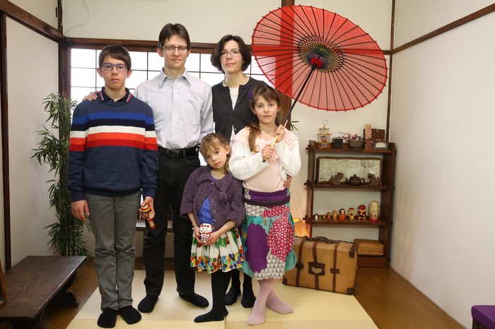 English and French speaking photo studio in Tokyo