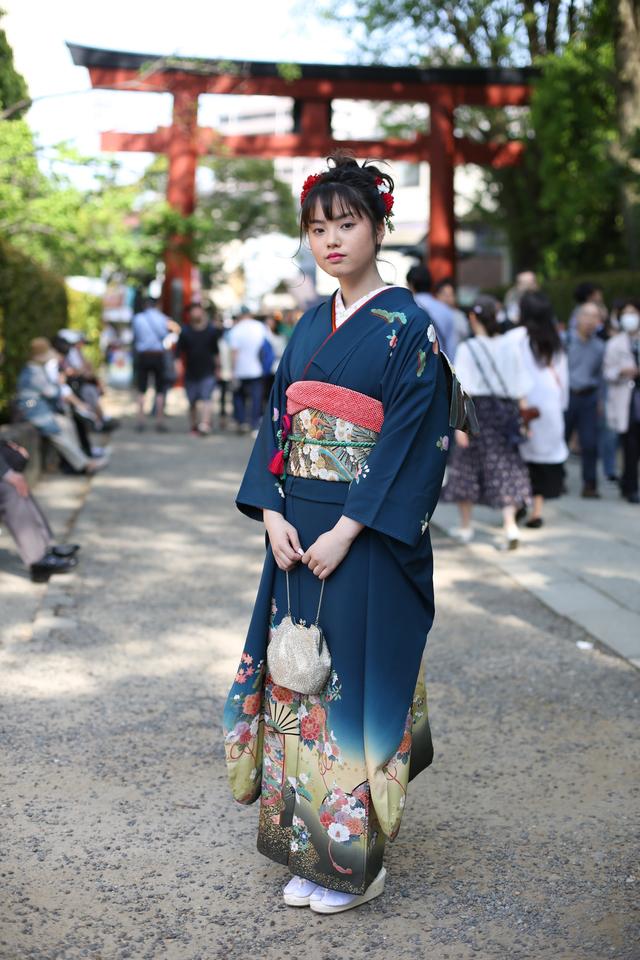 東京都文京区の由緒ある神社、根津神社へ出張しての前撮り撮影