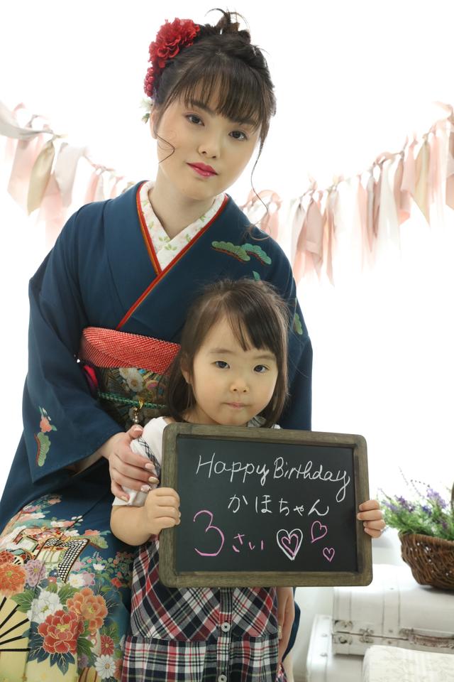 妹さんのお誕生日と成人式撮影を一緒に