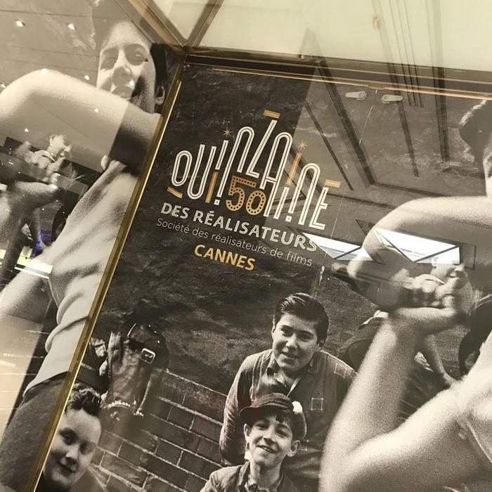 カンヌ映画祭監督週間の2018年のポスター