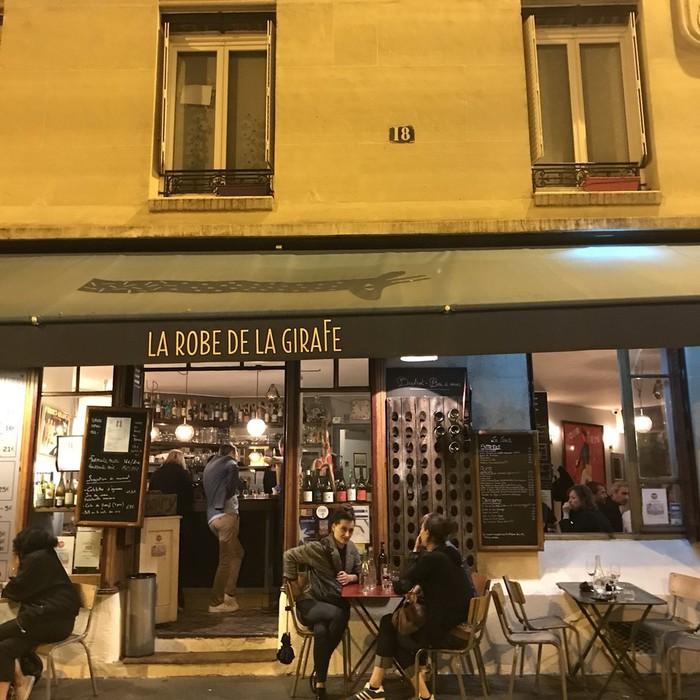 バスチーユ近くのカフェ