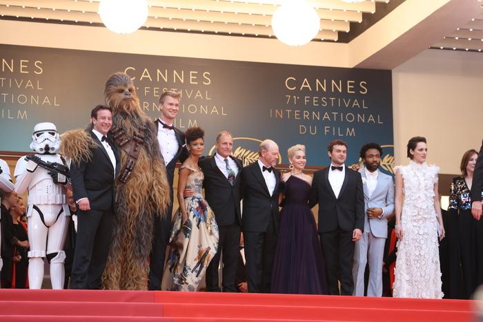カンヌ映画祭にスターウォーズが登場。