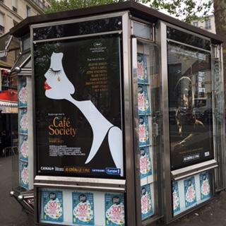 ウッディ・アレンの映画のポスター