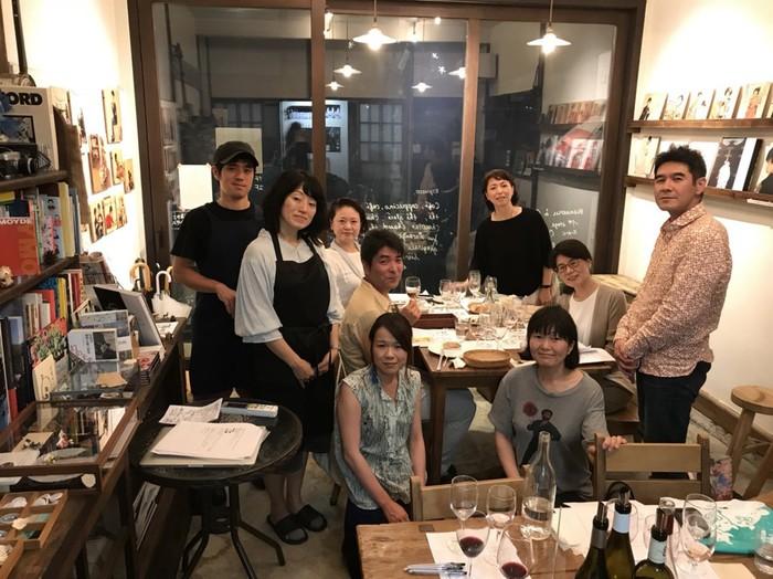 文京区千駄木のワイン好きがあつまるワイン会
