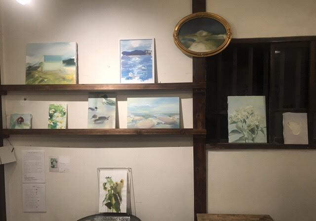 樋口亜弥個展を谷中の古民家カフェ、ケープルヴィルにて開催します。ワークショップも同時開催いたします。