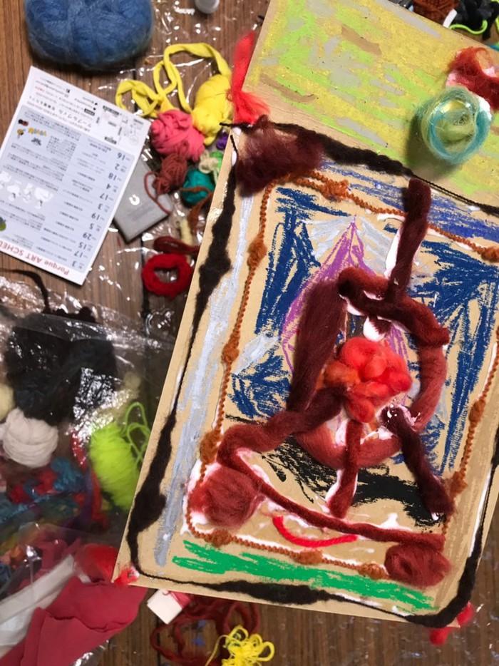 幼稚園児と小学生のアート教室、ポルケアートが4月から開講。生徒さん募集中です。